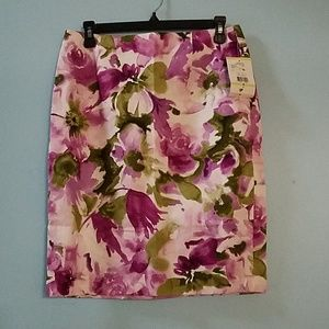 Jones Wear floral skirt